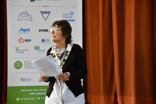 Michèle, notre présidente