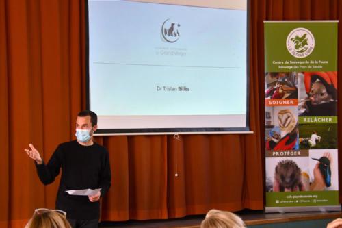 Dr Tristan Billès, vétérinaire à la clinique du Grand Verger